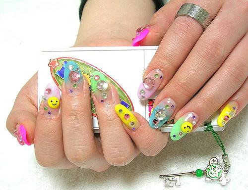 Nail Art Funky-10