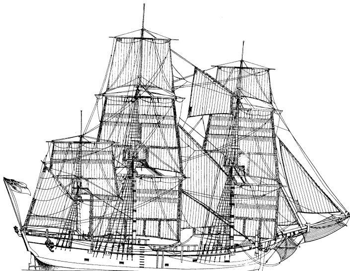 Le navi del XVII secolo  Endeav10