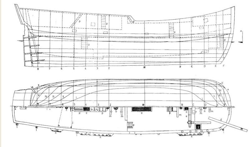 Le navi del XVII secolo  Endeav11
