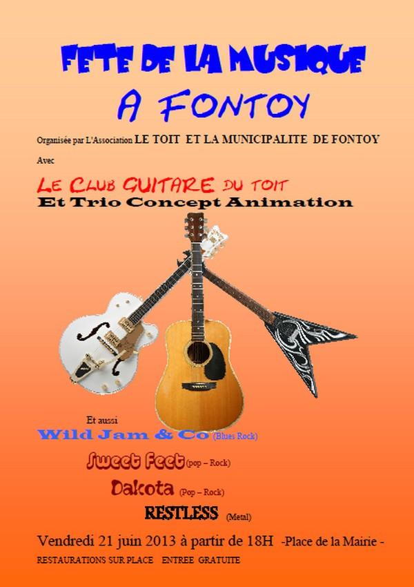 Fête de la musique à FONTOY  Fetede11