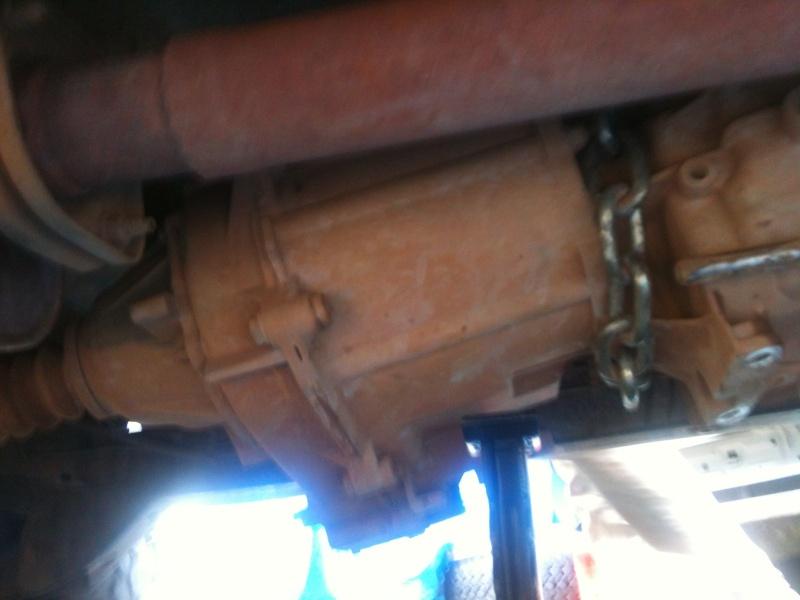 Remplacement d'un joint de boite de vitesse Img_1211