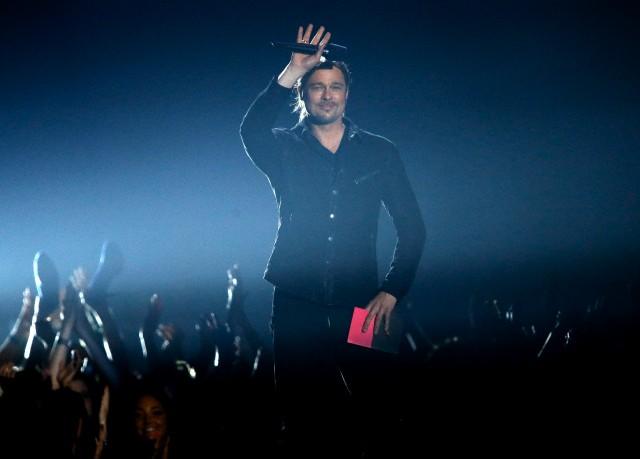 Brad at MTV Movie Awards..April 14th 2013 00144619