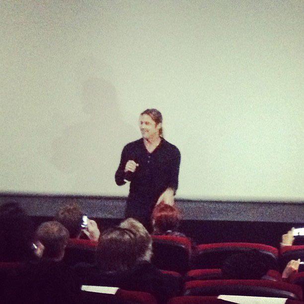 Brad at World War Z Screening, London, June 1st 2013 00144642