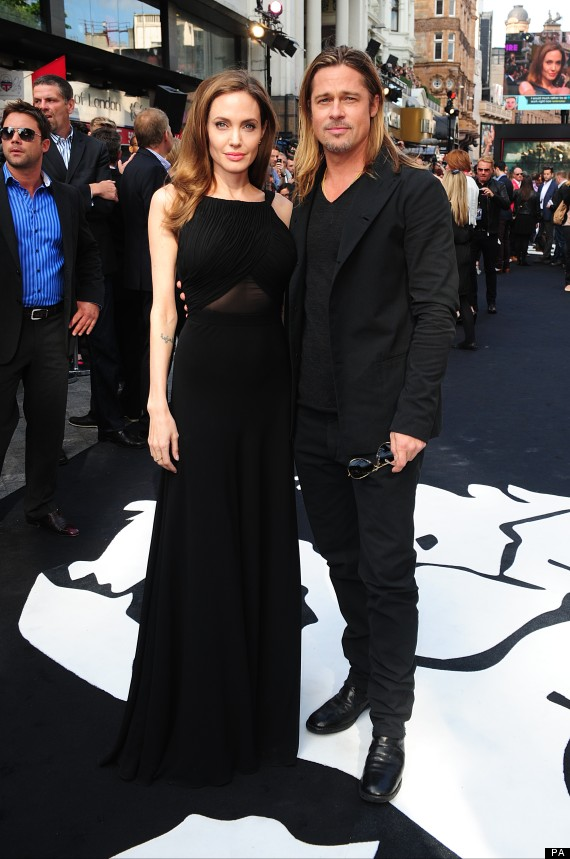 Brad and Angelina at World War Z Premiere..Leicester Square, London..June 2nd, 2013 00144643