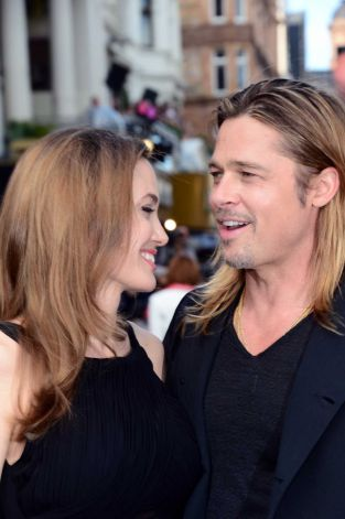 Brad and Angelina at World War Z Premiere..Leicester Square, London..June 2nd, 2013 00144644