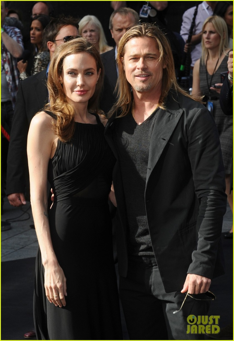 Brad and Angelina at World War Z Premiere..Leicester Square, London..June 2nd, 2013 00144646