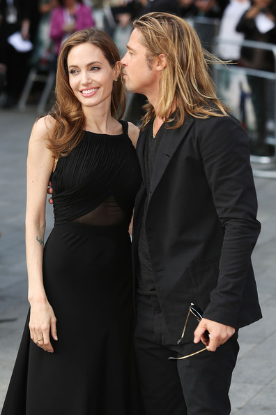 Brad and Angelina at World War Z Premiere..Leicester Square, London..June 2nd, 2013 00144647