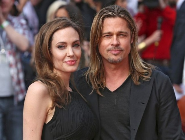 Brad and Angelina at World War Z Premiere..Leicester Square, London..June 2nd, 2013 00144650