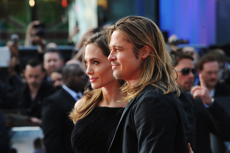 Brad and Angelina at World War Z Premiere..Leicester Square, London..June 2nd, 2013 00144653
