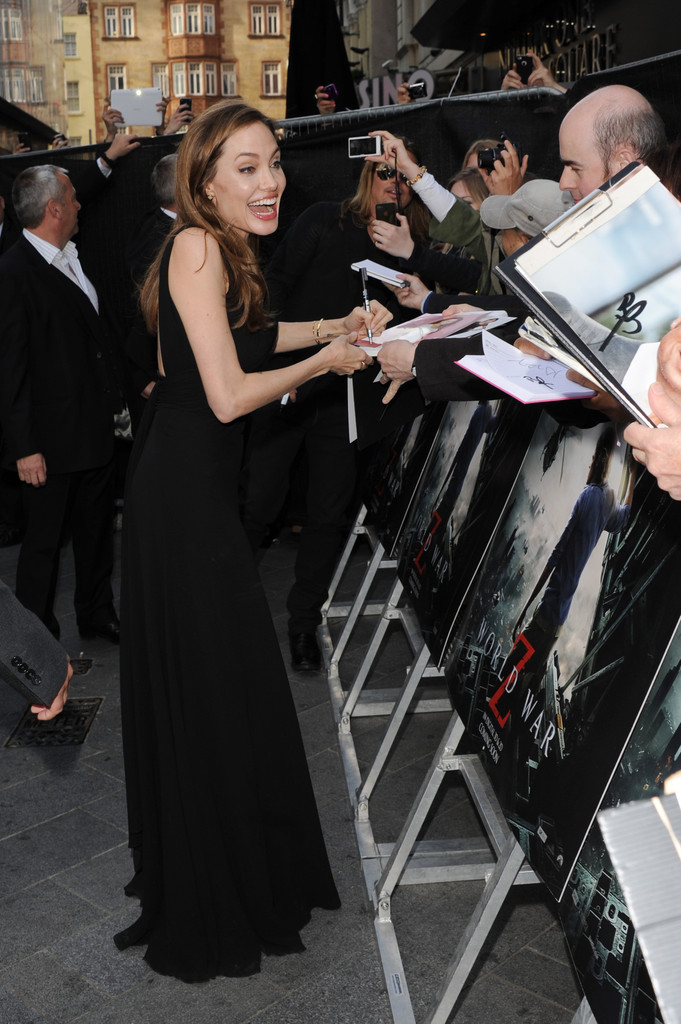Brad and Angelina at World War Z Premiere..Leicester Square, London..June 2nd, 2013 00144654