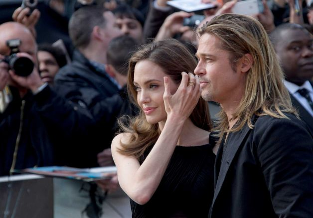 Brad and Angelina at World War Z Premiere..Leicester Square, London..June 2nd, 2013 - Page 2 00144660