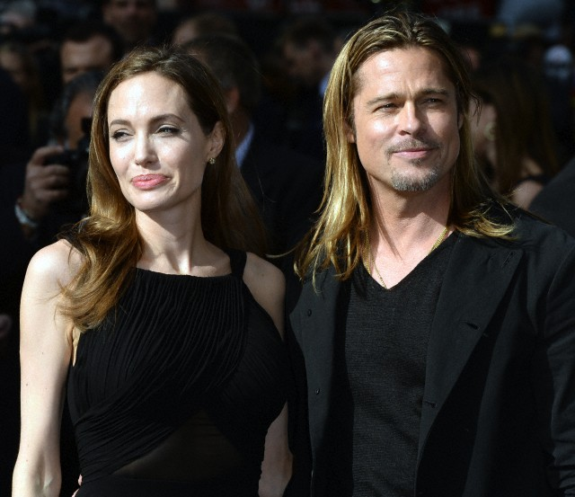 Brad and Angelina at World War Z Premiere..Leicester Square, London..June 2nd, 2013 - Page 2 0026612