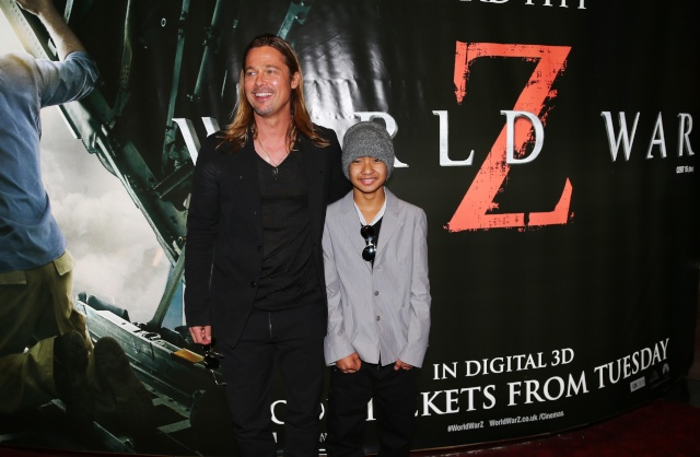 Brad and Angelina at World War Z Premiere..Leicester Square, London..June 2nd, 2013 - Page 4 0026616