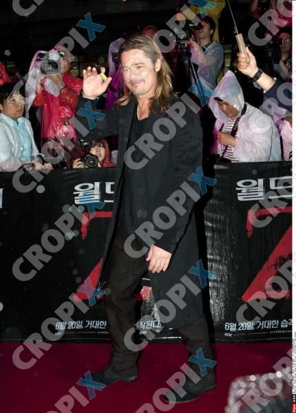 Brad at World War Z Premiere Seoul,South Korea..June 11th 2013 0026622