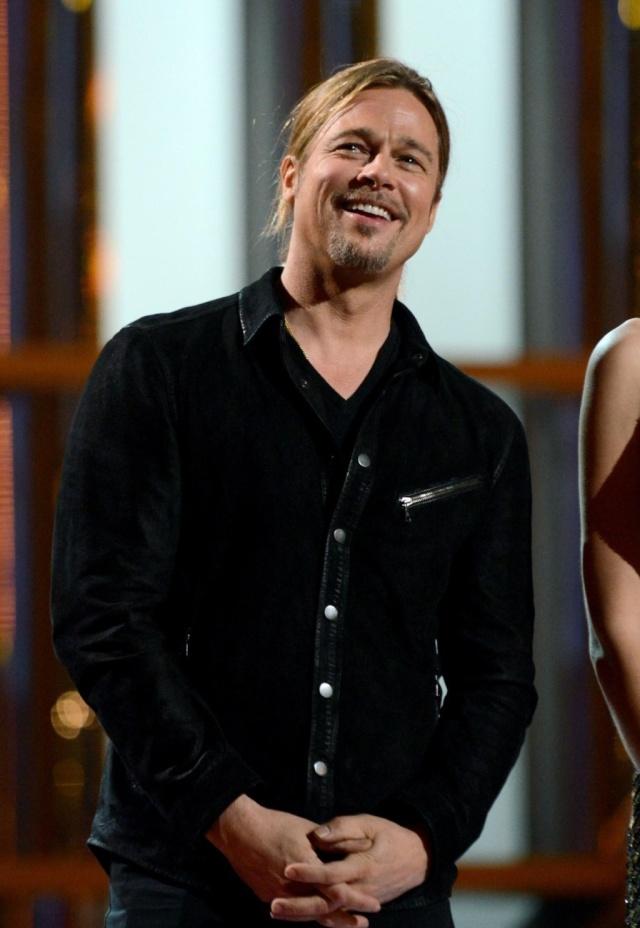 Brad at MTV Movie Awards..April 14th 2013 00335710