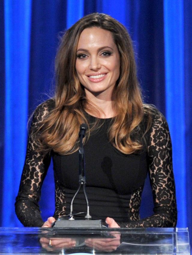 Brad and Angelina at Producers Guild Awards,Los Angeles, CA .January 21st 2012 00335716