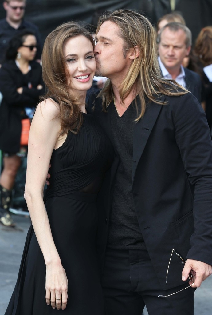 Brad and Angelina at World War Z Premiere..Leicester Square, London..June 2nd, 2013 00335730