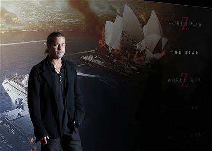 Brad at World War Z Premiere, The Star, Sydney Australia..June 9th 2013 - Page 2 00335748