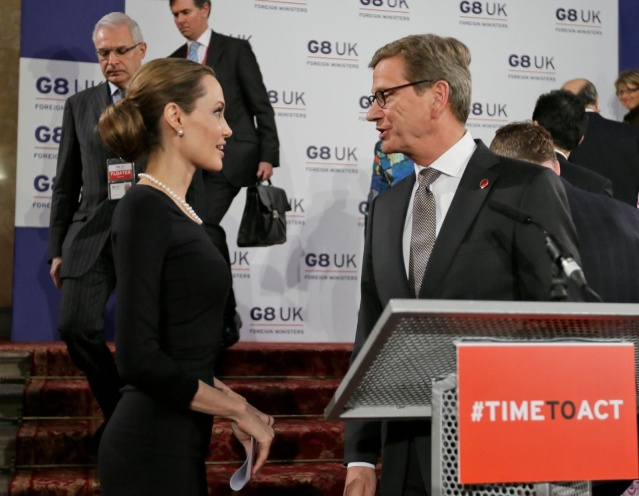 Angelina at G8 Summit..April 11th 2013 00335761
