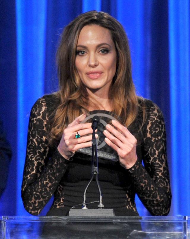 Brad and Angelina at Producers Guild Awards,Los Angeles, CA .January 21st 2012 00335813