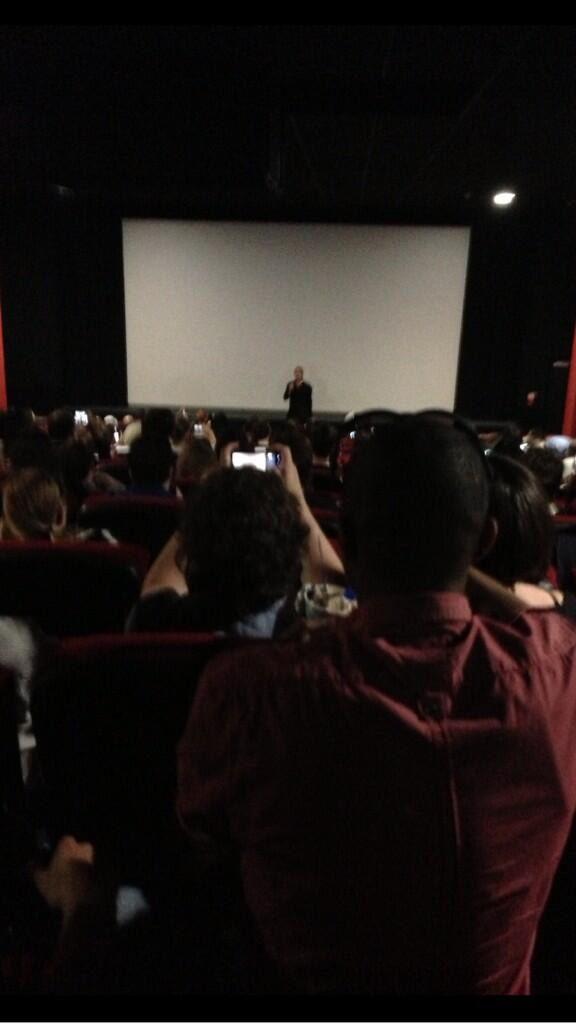 Brad at World War Z Screening, London, June 1st 2013 00335823