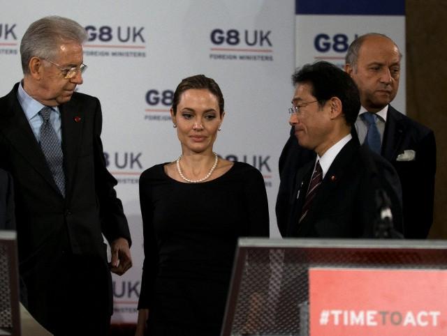 Angelina at G8 Summit..April 11th 2013 00411