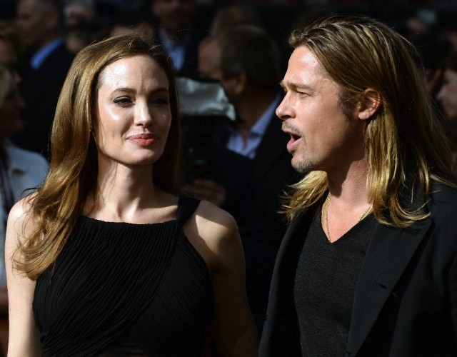 Brad and Angelina at World War Z Premiere..Leicester Square, London..June 2nd, 2013 - Page 2 00414011
