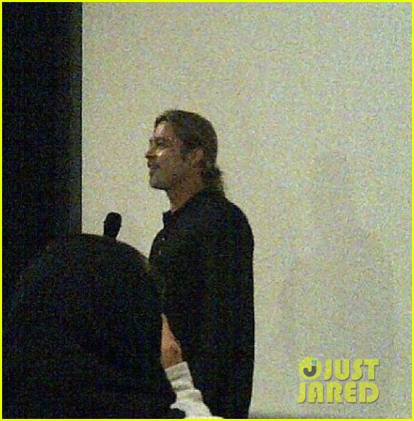 Brad at World War Z Screening, London, June 1st 2013 00430620