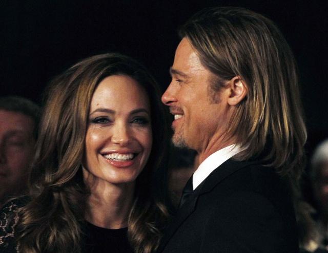 Brad and Angelina at Producers Guild Awards,Los Angeles, CA .January 21st 2012 00527913