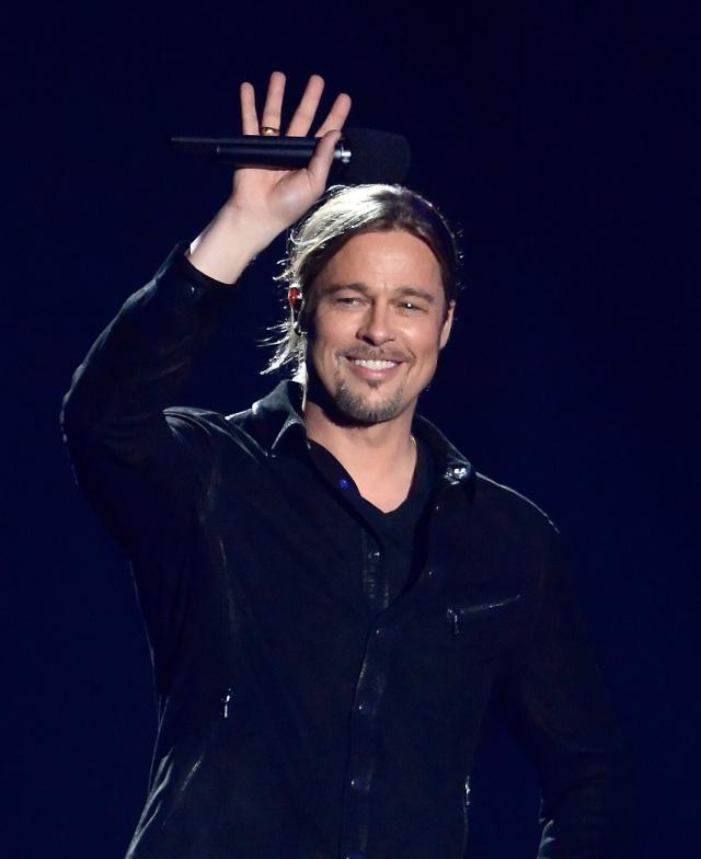 Brad at MTV Movie Awards..April 14th 2013 00917610