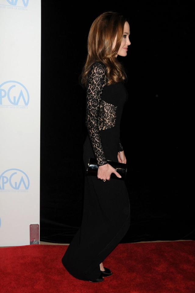 Brad and Angelina at Producers Guild Awards,Los Angeles, CA .January 21st 2012 0092410