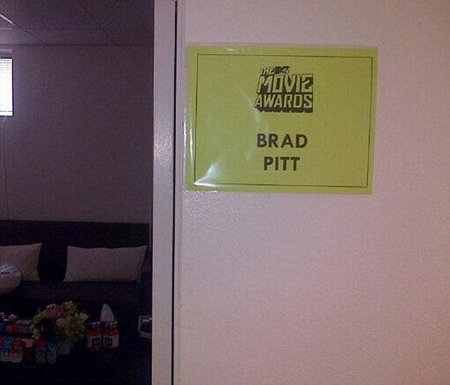 Brad at MTV Movie Awards..April 14th 2013 011