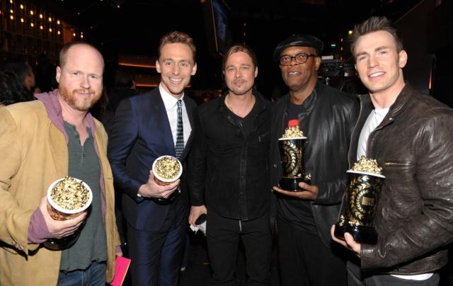 Brad at MTV Movie Awards..April 14th 2013 0119