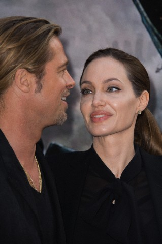 Brad and Angelina World War Z Premiere,UGC Normandie Movie Theatre.. Paris,France..June 3rd 2013 01213215