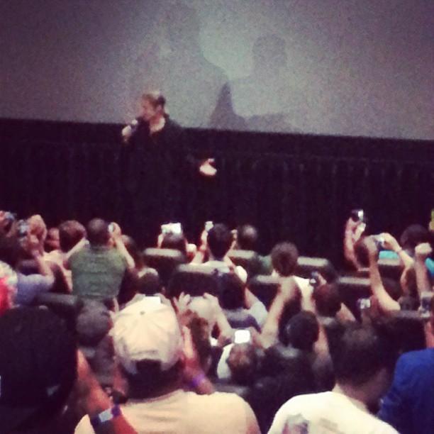 Brad at World War Z Screening, Hoboken, New Jersey..May 22nd 2013 0134