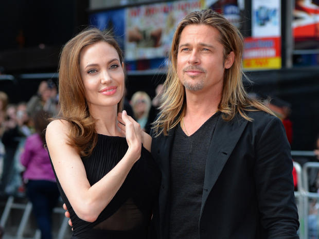 Brad and Angelina at World War Z Premiere..Leicester Square, London..June 2nd, 2013 0147