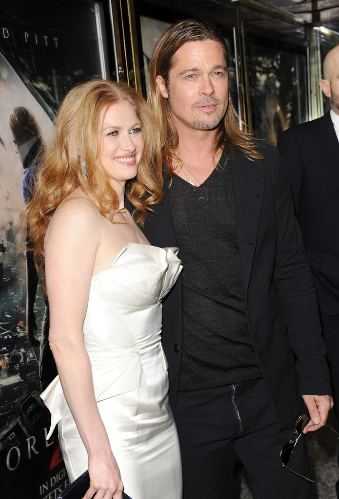 Brad and Angelina at World War Z Premiere..Leicester Square, London..June 2nd, 2013 0148