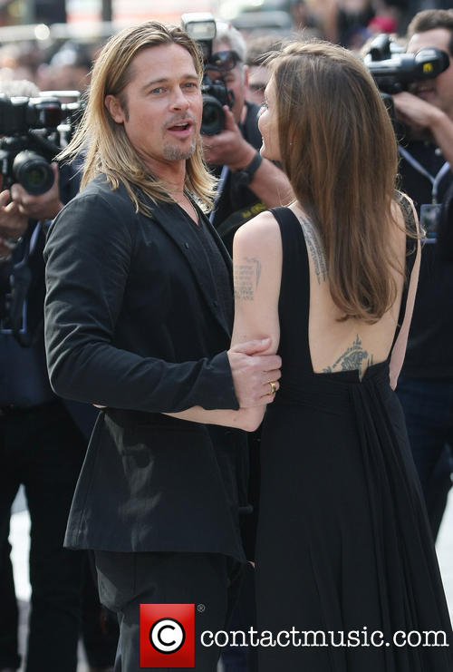Brad and Angelina at World War Z Premiere..Leicester Square, London..June 2nd, 2013 - Page 2 0152