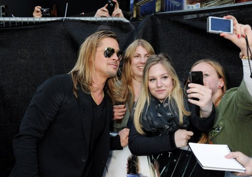 Brad and Angelina at World War Z Premiere..Leicester Square, London..June 2nd, 2013 - Page 2 0155