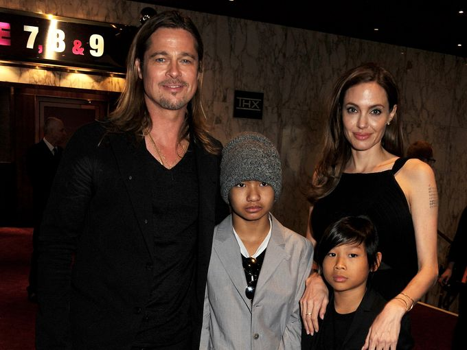 Brad and Angelina at World War Z Premiere..Leicester Square, London..June 2nd, 2013 - Page 2 016