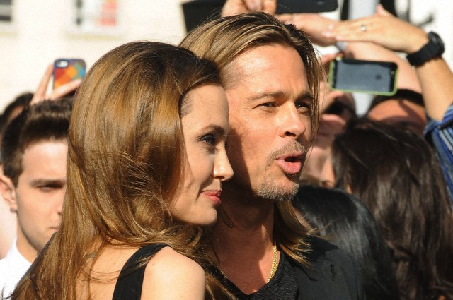 Brad and Angelina at World War Z Premiere..Leicester Square, London..June 2nd, 2013 - Page 2 0161