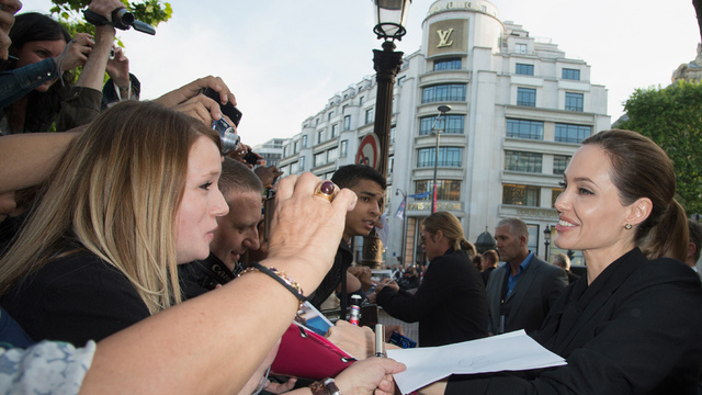 Brad and Angelina World War Z Premiere,UGC Normandie Movie Theatre.. Paris,France..June 3rd 2013 0165