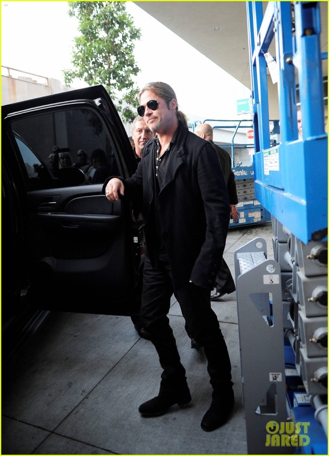 Brad at World War Z Screening, Regal LA Live..Los Angeles, CA..June 7th 2013 0178