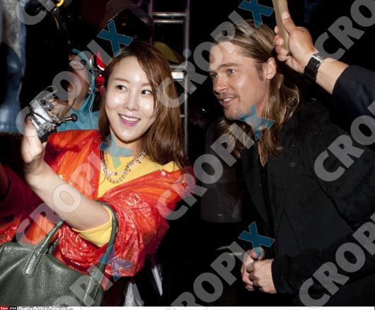 Brad at World War Z Premiere Seoul,South Korea..June 11th 2013 0181