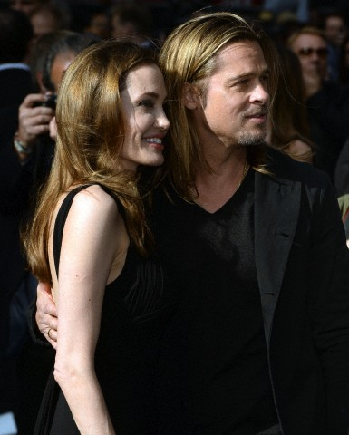 Brad and Angelina at World War Z Premiere..Leicester Square, London..June 2nd, 2013 - Page 2 019