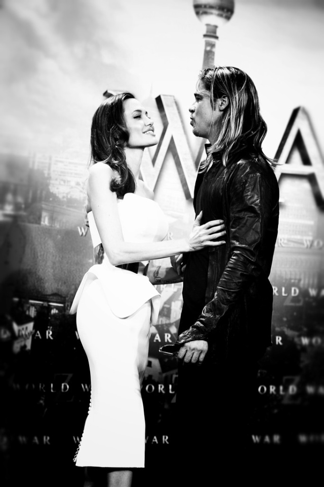 Brad and Angelina at World War Z Premiere, Sony Center..Berlin, Germany..June 4th 2013 - Page 2 01_48213
