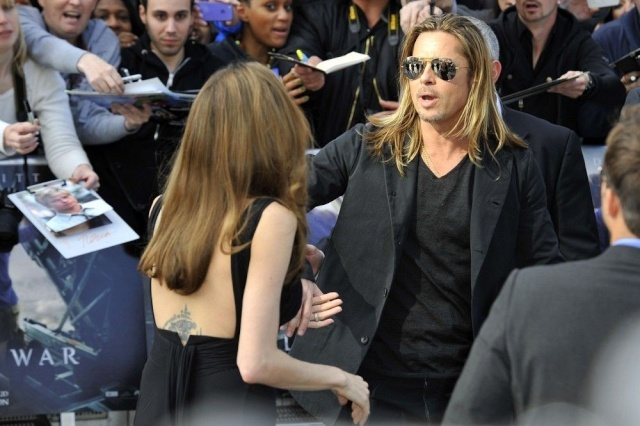 Brad and Angelina at World War Z Premiere..Leicester Square, London..June 2nd, 2013 - Page 3 01t_4212
