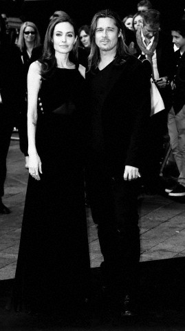 Brad and Angelina at World War Z Premiere..Leicester Square, London..June 2nd, 2013 - Page 2 021