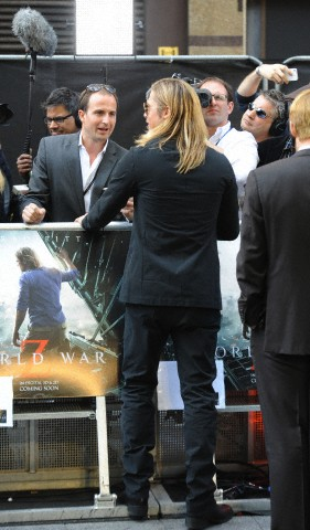 Brad and Angelina at World War Z Premiere..Leicester Square, London..June 2nd, 2013 - Page 2 022