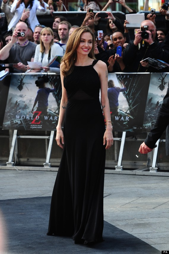 Brad and Angelina at World War Z Premiere..Leicester Square, London..June 2nd, 2013 0230